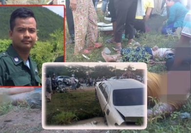 Kampong Spue Cop Kills 3 and Goes to Ground