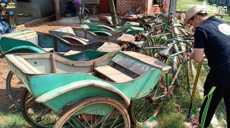 The Old Rickshaws of Kampot