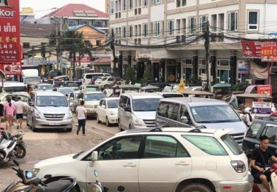 Traffic Congestion in Not-So-Sleepy Sihanoukville