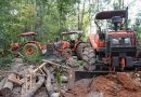 Tractors Captured in Illegal Land Clearing