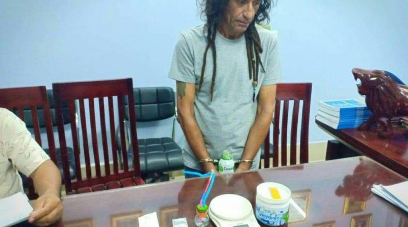Infamous Turk Elitok Robil Busted With Meth In Kampot