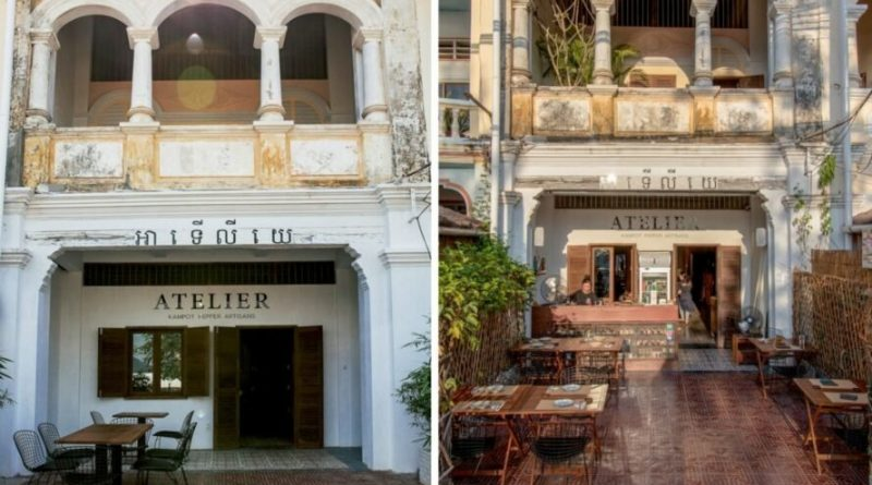 Decaying Kampot Shophouse Given Adaptive Resuse Makeover