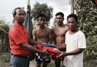Tycoon Opens Battambang Khmer Boxing Arena