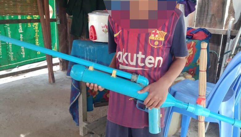 Pursat Boy Shoot Brother With Homemade Gun