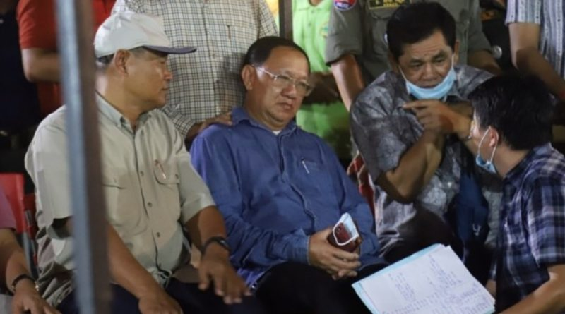 Sihanoukville Governor Removed