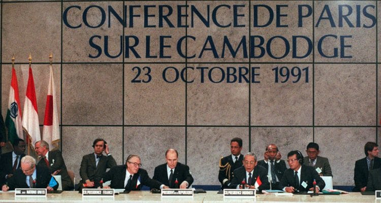 Today In History- Paris Peace Agreements, 23 October 1991