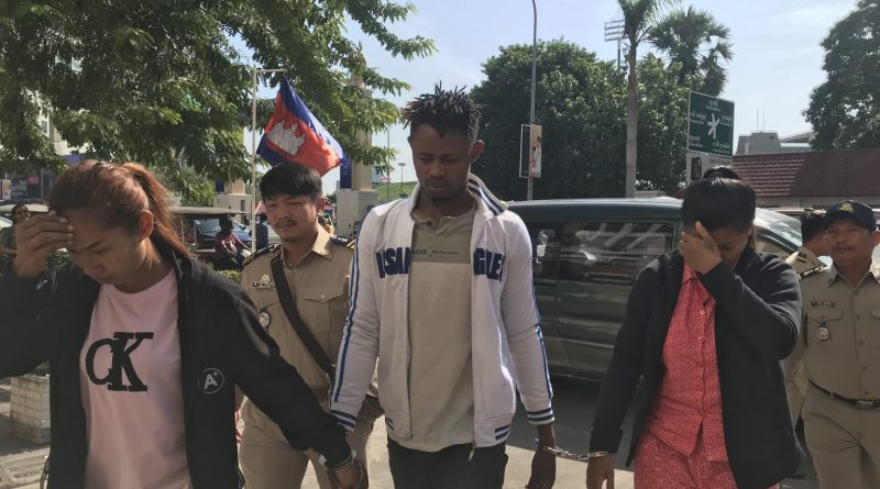 Nigerian And Khmer Meth Smugglers In Court
