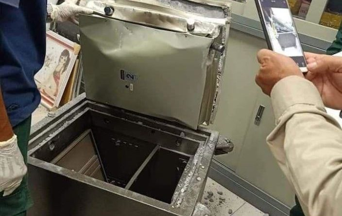 Another Safe Cracking Case