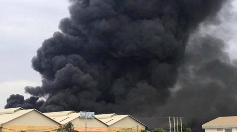 UPDATE: One Injured In Factory Explosion