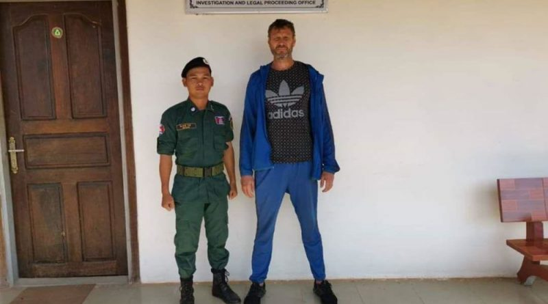 Russian Over Stayer Caught In Siem Reap