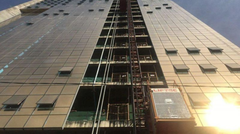 Gold Tower 42 Site Suspended