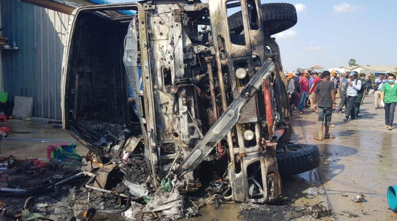 UPDATE: Child Dies After Truck Crash And Fire