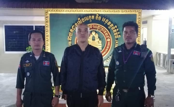 Nuisance Chinese Man Detained In Chroy Changva