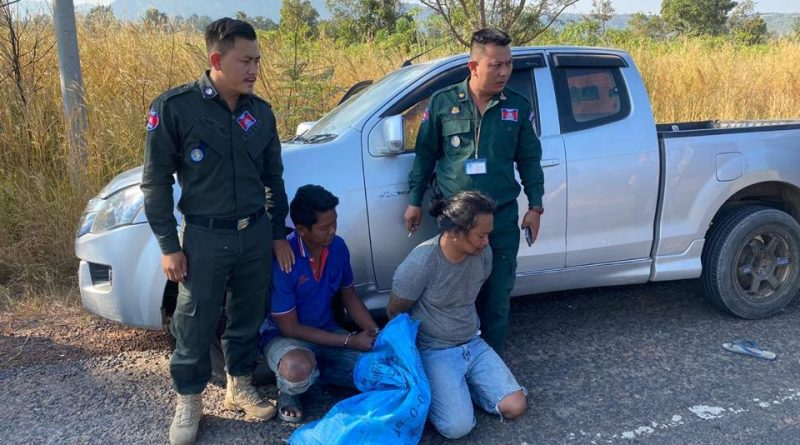 Two Thais Caught Smuggling 8 Kilos Of Meth
