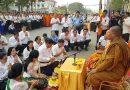 Prayer Service For Traffic Victims In Kampong Speu