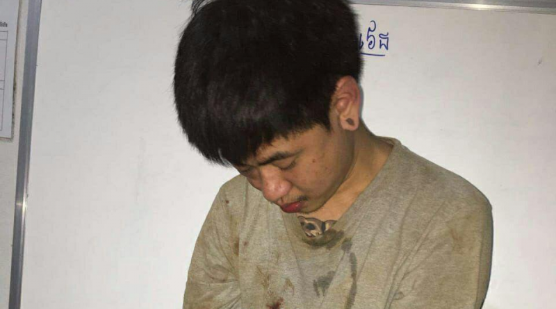 Thai Arrested After Pailin Knife Fight