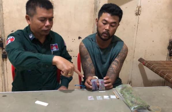 Suspicious Tattooed Man Caught With Drugs