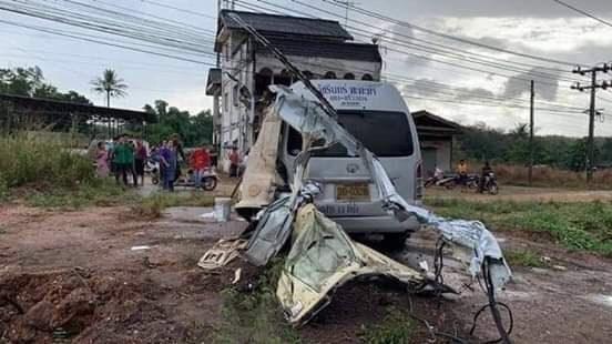 Thai Crash Kills Migrant Worker, 11 Injured