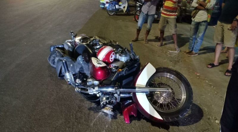 Korean Dies After Crashing Big Motorcycle