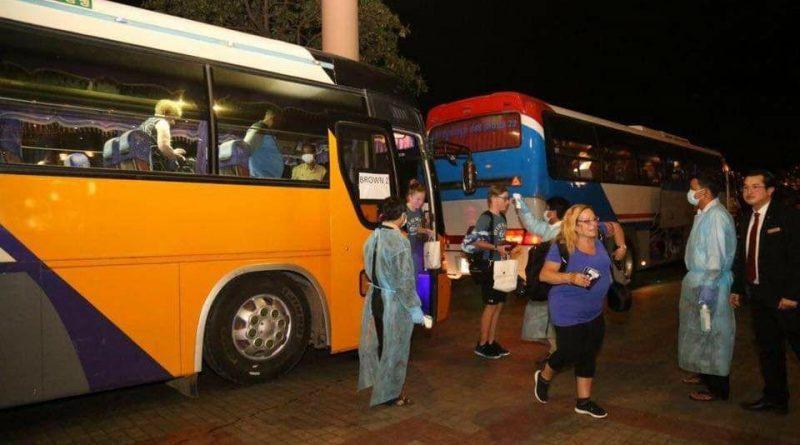 Last Westerdam Passengers Arrive At Sokha PP
