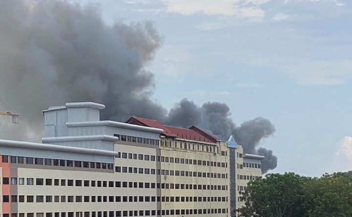 Reports Of Fire In Tonle Bassac