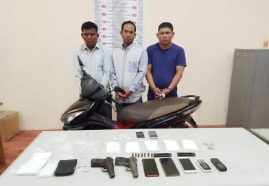 6 Arrested For Drugs & Firearms Offenses