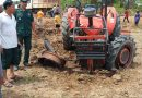 Anti-Tank Mine Blows Up Tractor In Battambang