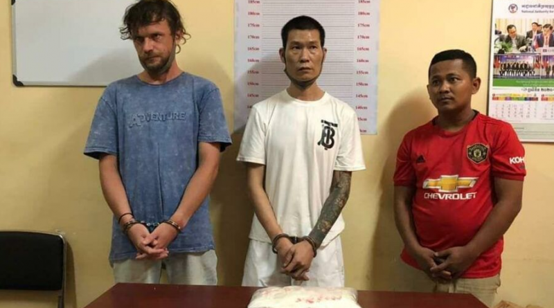 Russian, Taiwanese And Cambodian Caught With Heroin And Meth