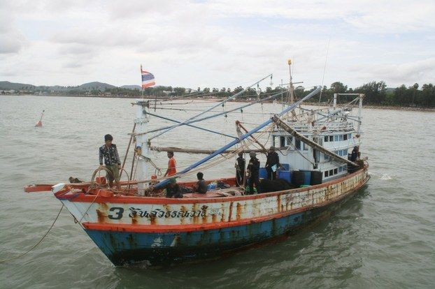 Cambodian Confesses To Murder On Thai Fishing Boat