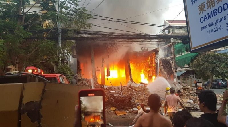 Workers Cause Closed Club Fire In Daun Penh