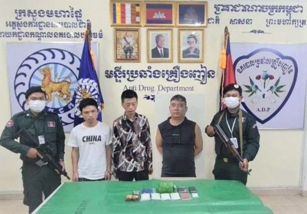 Trio Of Chinese Drug Dealers Arrested