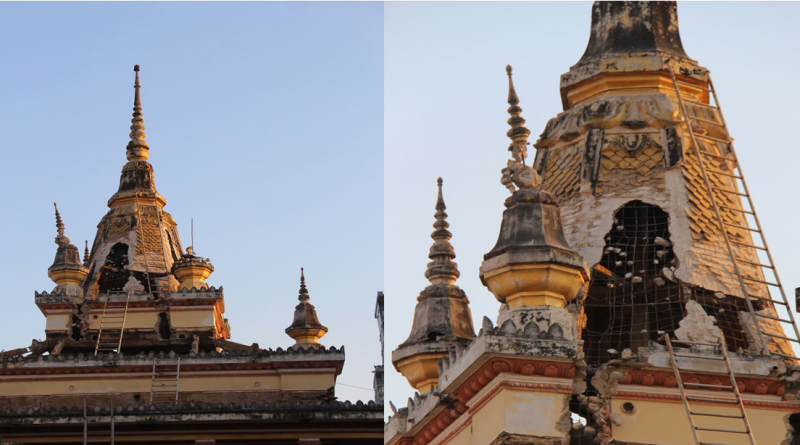 Historic Capital Pagoda Tower Set For Demolition