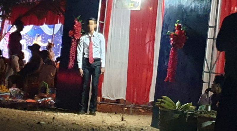 Surprise As Bride Gives Birth During Kampot Wedding