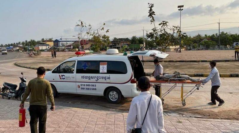 Man Sets Himself On Fire In Preah Sihanouk