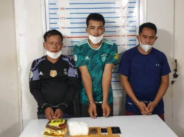 Poipet Trio Arrested With Drugs, Bullets & Strange Implement