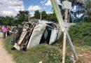 Lucky Driver Walks Away From Wrecked Ranger