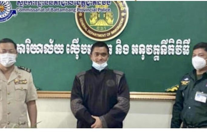 Two Escaped Indonesians Caught By Battambang Police