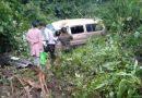 9 Injured As Minivan Crashes On Kirirom