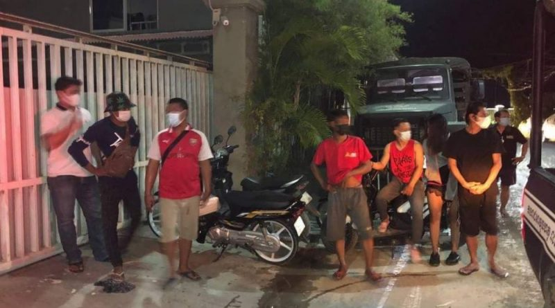 Eight Arrested At Illicit Drinks Party