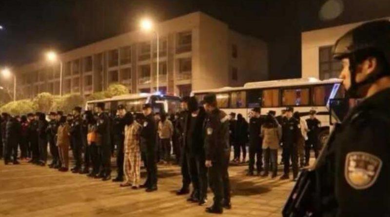 Chinese TV News On Sihanoukville's 'Wu Mabiao' Kidnap Gang