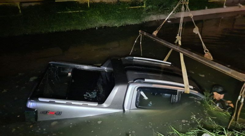 Drunk Dunks Ranger In Smelly Canal