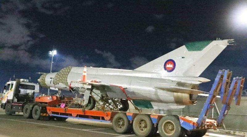 MiG-21 'MF-7121' Makes Museum Move